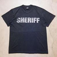90's Vintage SHERIFF S/S T-shirts シェリフ 保安官