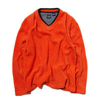 Gap / V-neck Fleece Pullover