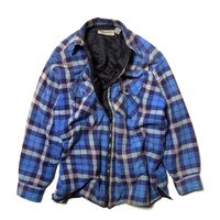 Widerness / Zip-up Quilting Nel Shirts
