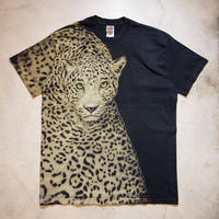 90's Leopard S/S T-shirts ヒップホップ 豹 XL