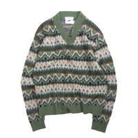 Kandahar / Acrylic V-Neck Sweater