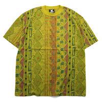 NOS 80's Vintage XSTATX 総柄Tシャツ デッドストック アメリカ製