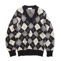 Cross Road / Acrylic V-Neck Sweater