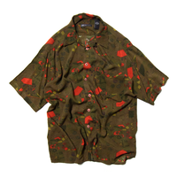 Generra Collection / All Over Patterned Rayon Shirts
