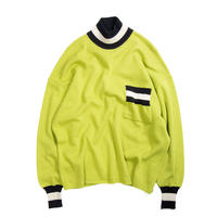 STNT / Acrylic Design Knit Sweater