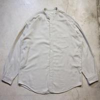 PERRY ELLIS ノーカラーシャツ アメリカ製 チンストラップ