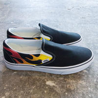 VANS Slip-on Flames Pack ファイヤーパターン