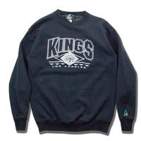 Los Angeles KINGS Embroidred Sweatshirts アメリカ製