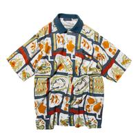 Newsmaker / Botanical Patterned SS Shirts
