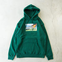 "Fucking Awesome ""Car Burn"" Hoodie ジェイソンディル AVE"