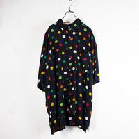 Perry Ellis / Polkadots Rayon Shirts