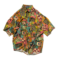 Montage / All Over Patterned Rayon Shirts