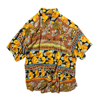 Thums Up / All Over Patterned Rayon Shirts