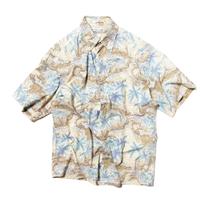 Pierre Cardin / Map Patterned Cotton Shirts