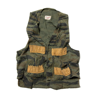 Trail Blazer / 60's Tiger Camo Patterned Hunting Vest