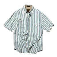 Eddie Bauer / Rufton Twill SS Stripe Shirts