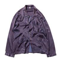 Unknown / Paisley Patterned EU Satin Pajama Shirts