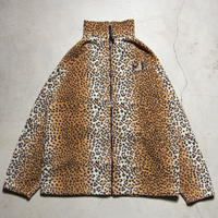 "US製 ""San Francisco"" Embroidered Leopard Fleece Jacket GX1000 サンフランシスコ"