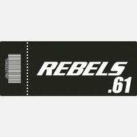 【TICKET】REBELS.61 B席 2019.6.9 後楽園ホール