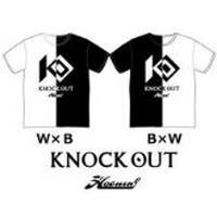 HAOMING × KO オフィシャルTシャツ B × W