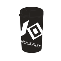 KNOCK OUTカフェタンブラー
