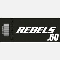 【TICKET】REBELS.60 S席 2019.4.20 後楽園ホール