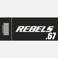 【TICKET】REBELS.67 A席 2020.11.08 後楽園ホール