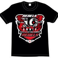【T-SHIRT】REBELS 10周年記念Tシャツ