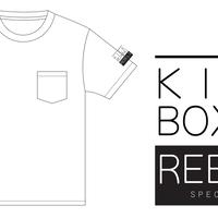 【T-SHIRT】REBELS ポケット白Tシャツ