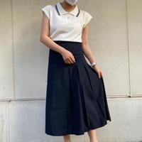 アシメプリーツラップスカート【212-4003】