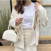 Romantic T-shirt(white)【211-2006】