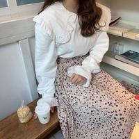 花柄ガーリープリーツスカート【192-4063】