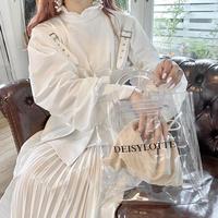 【ロゴクリアバッグ201-9102】ノベルティ♡ ※¥13,000以上お買い上げの方はカートにお入れ下さい