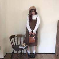 ブラウンコーデュロイジャンスカ【192-6011】