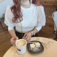 オーガンジーチュールトップス【192-2012】