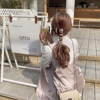 ピンクサテンキャミワンピ【201-6016】