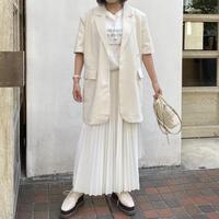 ホワイトミドル丈ジャケット【211-7007】