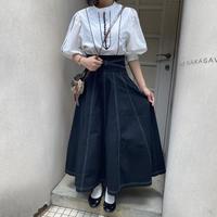 クロスデザインステッチスカート【211-4012】