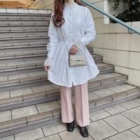 ホワイトシャツワンピース【192-6066】