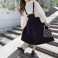 サス付きレトロガーリースカート【201-4006】