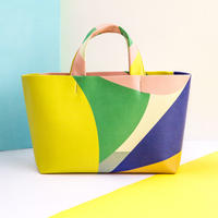 Mini Tote Bag - Pattern YLBLU