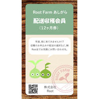 Root Farmあしがら 配送収穫会員券(12ヵ月)