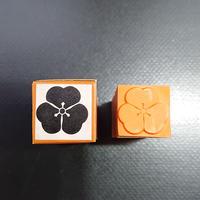 家紋ゴム印       片喰