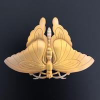 【K-207】前立 アゲハ蝶