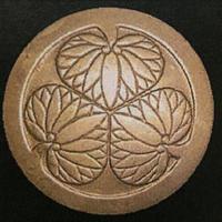 【K-001】前立 丸に三つ葉葵