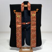 黒羅紗陣羽織 11・丸に唐花紋 大幅値下げ!!