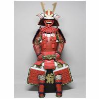 【O-038】赤糸威大袖赤二枚胴具足(あかいとおどしおおそであかにまいどうぐそく)