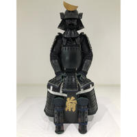 【O-036】黒糸威縦矧二枚胴具足(くろいとおどしたてはぎにまいどうぐそく)