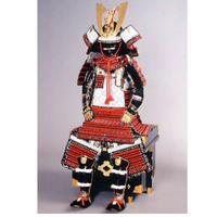【C-004】赤糸威当世小札大鎧 (子供鎧)