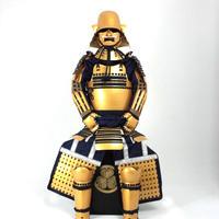 【Y-044】徳川家康金溜総懸鎧(竹)